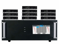 4K 1x10 HDMI HDBaseT Splitter w/10-HDBaseT Receivers & Out Control to <i>330'</i>