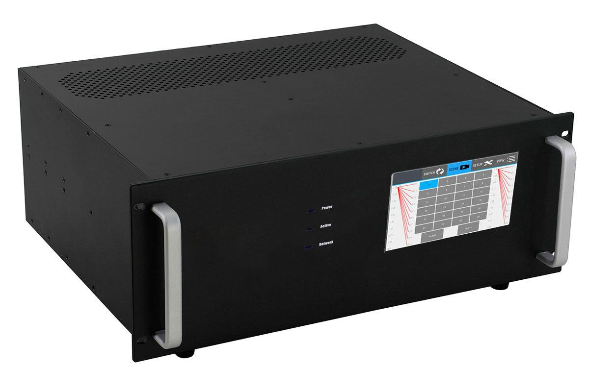 4K 1x14 HDMI HDBaseT Splitter w/14-HDBaseT Receivers & Out Control to <i>330'</i>