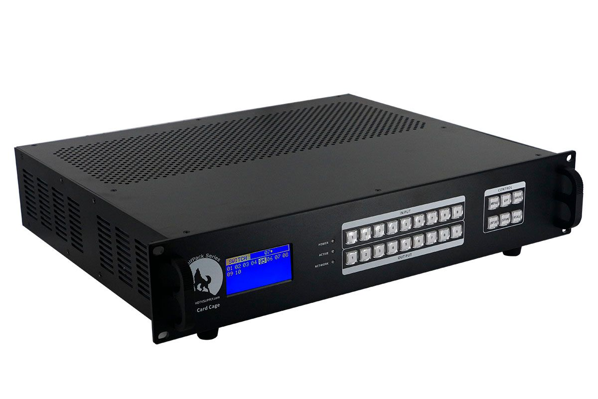 4K 1x5 HDMI HDBaseT Splitter w/5-HDBaseT Receivers & Out Control to <i>330'</i>