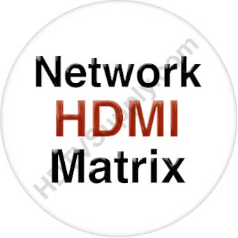 4K 23x2 HDMI Matrix Over Wireless LAN with iPad App