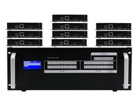 4K 6x10 HDMI Matrix HDBaseT Switcher w/10-HDBaseT Receivers & Apps