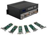 Design Your Own 4K HDMI Matrix Switcher with a 9x9 Chassis