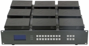Design you Own 4K HDMI Matrix Switcher using a 9x9 Chassis
