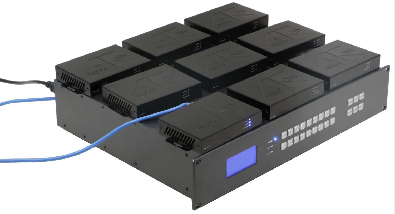 4K/30 9x9 HDMI Matrix Switcher Chassis - You Design