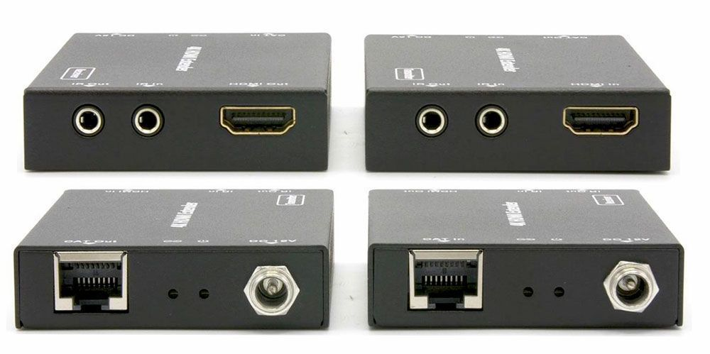4K 32x4 HDMI Matrix Switch with 4-Separate HDMI to CAT5 Baluns