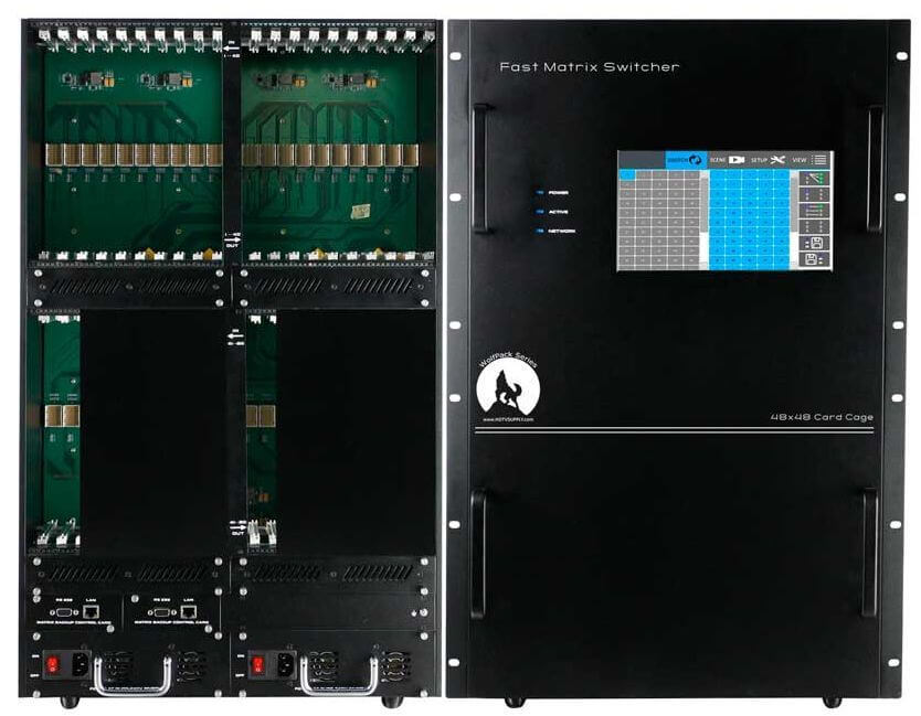 4K 40x44 HDMI Matrix Switcher Over CAT5