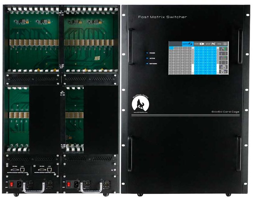 4K 44x64 HDMI Matrix Switcher