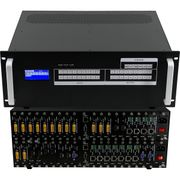 4K/60 16x4 HDMI Matrix Switcher w/Video Wall Processor, Scaling, Apps & Separate Audio
