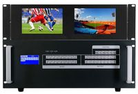4K 60 HDMI Matrix Switchers w/Built-in Videowall Processor in 18x18 Chassis (84)