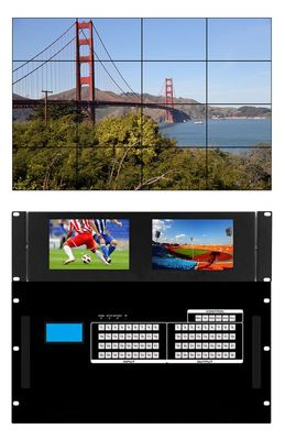 4K 60 Hz HDMI Matrix Switchers in 36x36 Chassis & Built-in Video Wall Processors (60)
