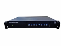 4K-60 3x16 HDMI Video Wall Processor with Cropping, Splicing, Stitching & Rotation