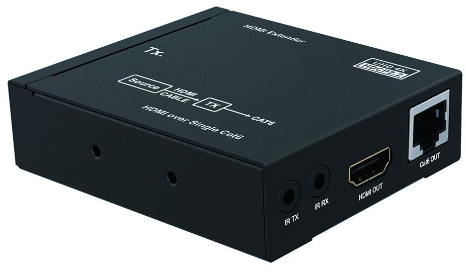 WolfPack 4K/60 HDMI Extender over CAT5 with Loopout