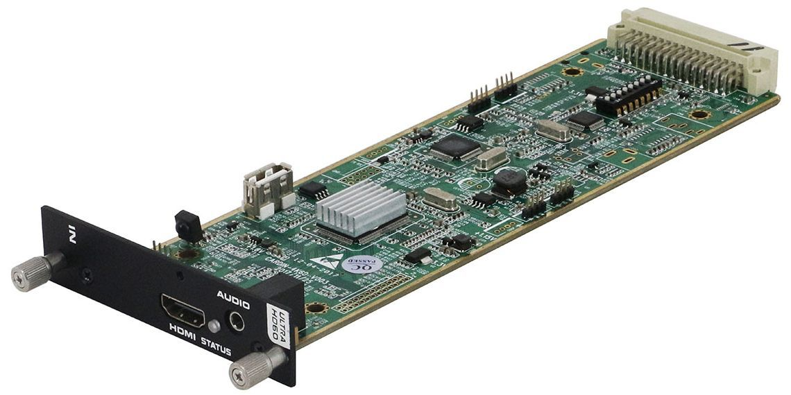 WolfPack 4K/60 Seamless HDMI Input Card Announced by HDTV Supply, Inc.