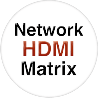 4K 8x4 HDMI Matrix Over LAN with iPad App