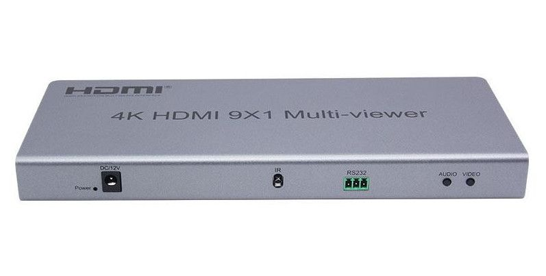 WolfPack 4K 9 Port HDMI Multiviewer Announced by HDTV Supply, Inc.