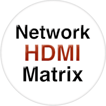 4K 9x24 HDMI Matrix Over LAN with iPad App