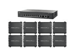 4K/30 HDMI Matrix Switch over LAN w/Video Wall Processor - See 8