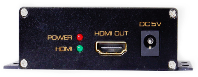 4x12 HDMI Matrix Switch Over Coax Cables to 1,500'