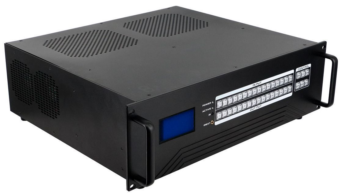 4x12 HDMI Matrix Switch w/Video Wall, Scaling, Separate Audio, Apps & 100ms Switching