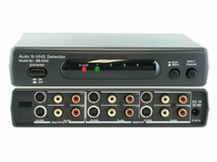 Shinybow SB-5425 4x2 Auto S-Video/Audio Switcher