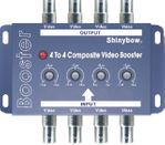 Shinybow SB-2812 4x4 Composite Video Booster - Refurbished - TAA Compliant