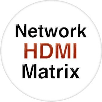 4x4 HDMI Matrix Over LAN w/Remote IR & HDMI Loopout