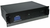 4K 4x4 HDMI Matrix Switch with 4-Separate HDMI Baluns in 16x16 Chassis