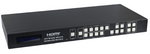 4x4 Seamless HDMI Matrix Switch Video Wall w/VGA, CV & HDMI Inputs