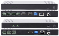 4x8 HDMI Matrix Over LAN w/POE, Video Wall, Apps, WEB GUI & Separate Audio