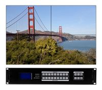 4x8 HDMI Matrix Switcher w/Scaling, Separate Audio, Apps, Video Wall & 100ms Switching