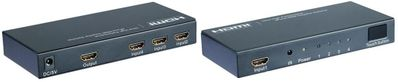 5X1 HDMI Switch with One Front Input - Auto-sensing