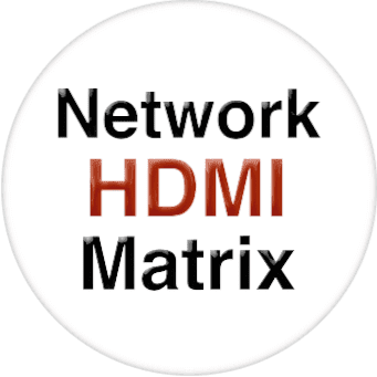 4x4 Network HDMI Matrix Switcher w/WEB GUI