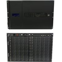 See 16 - Different HDMI Matrix Switchers w/Video Wall Processors in 64x64 Chassis