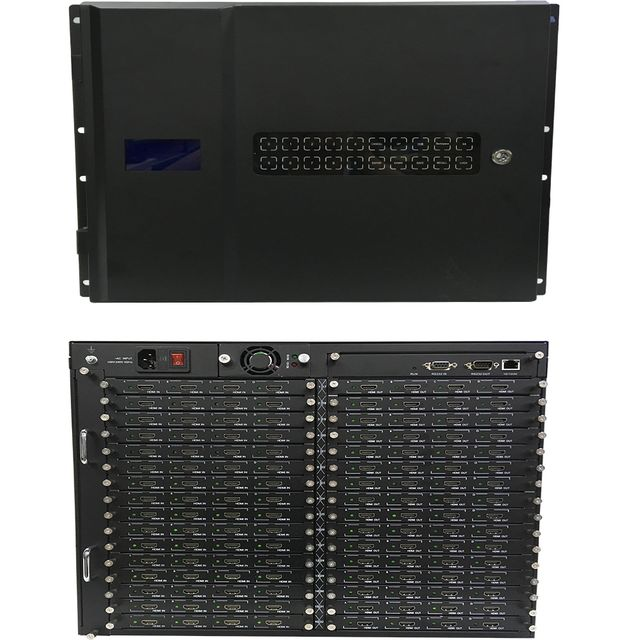 See 36-Different 4K HDMI Matrix Switchers in a 64x64 Chassis