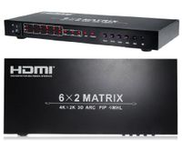 4K 6x2 HDMI Matrix Switcher w/Picture-In-Picture & ARC