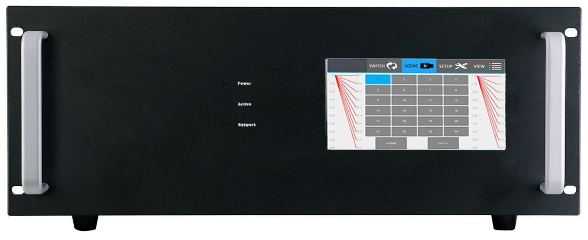 """Front Panel 7"""" Color Touch Screen"""