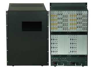See 32-Different HDMI Matrix Switchers in an 80x80 Chassis