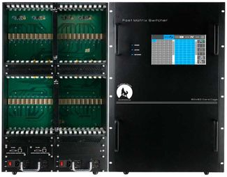 HDMI Matrix Switchers in an 80x80 Chassis with Video Wall, Scaling & Separate Audio(32)