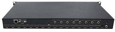8x8 HDMI 18G 4:4:4 Matrix Switch with Audio De-embedding