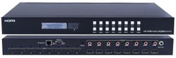 4K WolfPack UHD 8x8 HDMI Matrix Switcher w/HDR, HDMI 2.0 & HDCP 2.2 & 8-SPDIF Outs