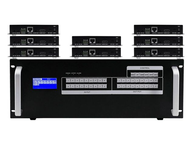 8X8 HDMI MATRIX SWITCHERS