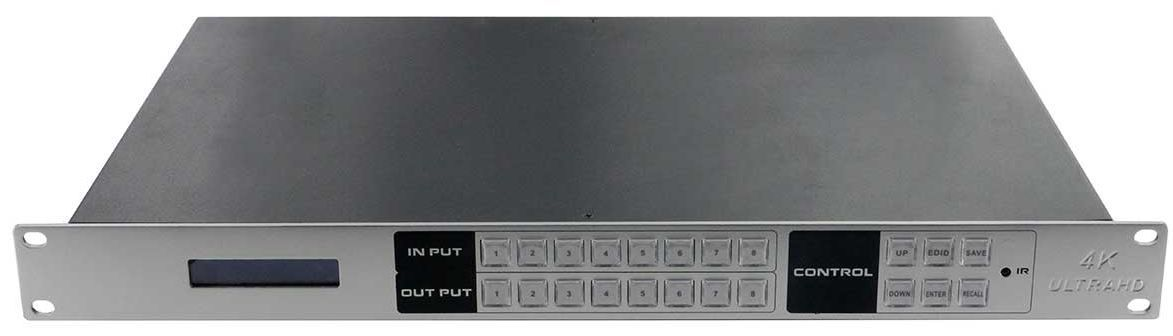 4K 8x8 HDMI Switcher with Control4 Drivers