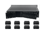 4K/30 HDMI Matrix Switchers with HDBaseT Cards/Receivers in 9x9 Chassis (62)