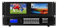 WolfPackPro 4K HDMI Matrix Switchers in 9x9 Chassis & Dual Monitors (24)