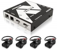 Adder ALDV104K-US Digital AV HDMI 1 to 4 Extender / Splitter Kit