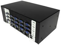 Adder AV4PRO-VGA-TRIPLE-US VGA, Triple Video, 4 port USB KVM switch
