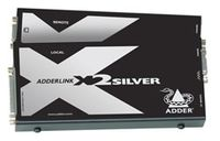 Adder X2-SILVER-P-US CAT 6 KVM Extender with RS232