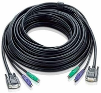 ATEN 2L1010P 33ft (10m) VGA & PS2 Console Extension Cable