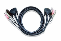ATEN 2L7D03UI 10ft DVI-I Single Link KVM cable for CS1768 & others