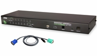 ATEN CS1716AUKIT 16-Port USB-PS/2 KVM with 16 USB Cable